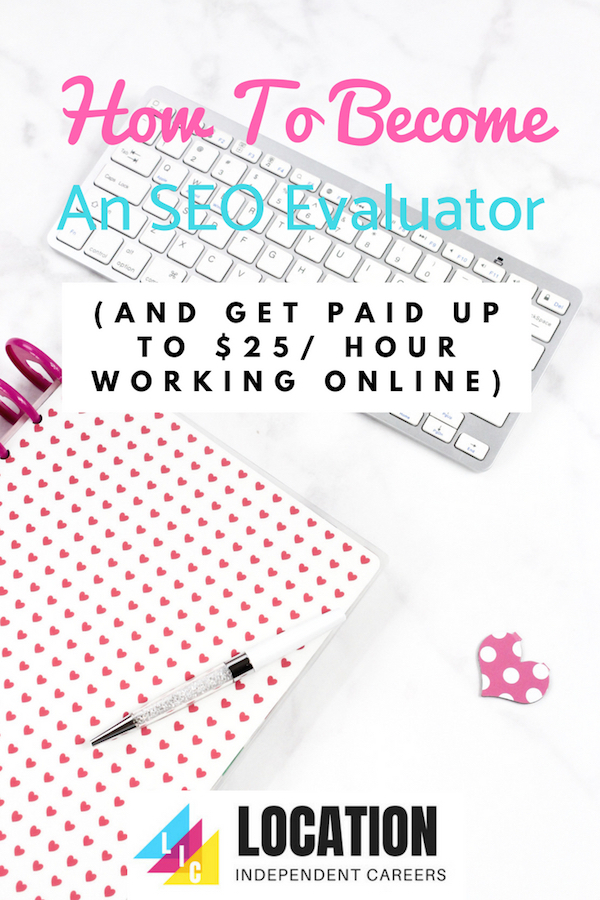 How To Become An SEO Evaluator And Get Paid Up To $25 Per Hour Working Online   Search Engine Evalutor Jobs   Work From Home   Online Work   Remote Work   Money Making Ideas