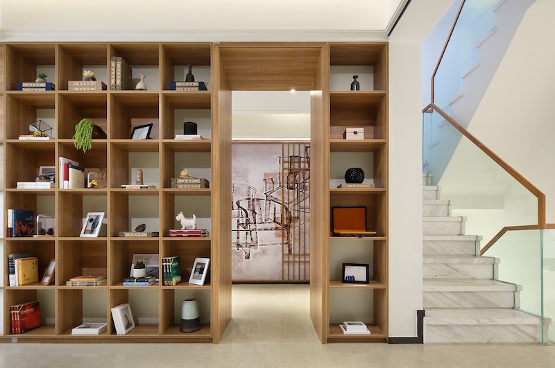 cabinet divider for small apartment ideas